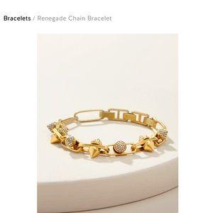 NWT Stella & Dot Renegade Chain Bracelet